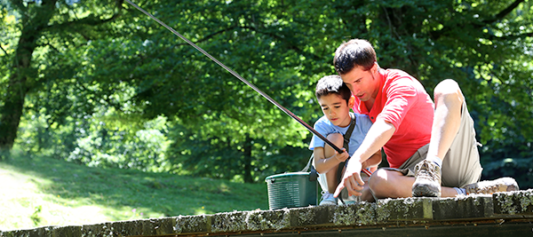 Fishing with Michael Simonton