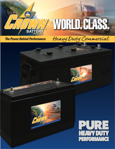Heavy Duty Commercial Batteries