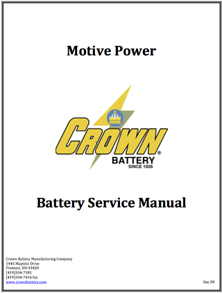 industrial Battery Manual