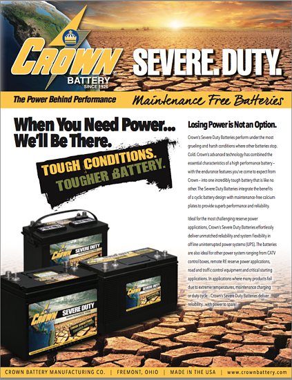 Severe Duty Batteries