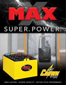MAX Material Handling Batteries Image