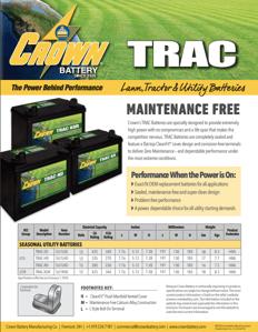 TRAC Batteries