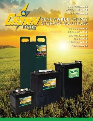 Crown Battery Renewable Energy Storage