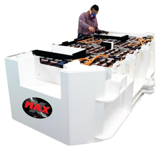 MAX Baterías Mineras de Alta Capacidad