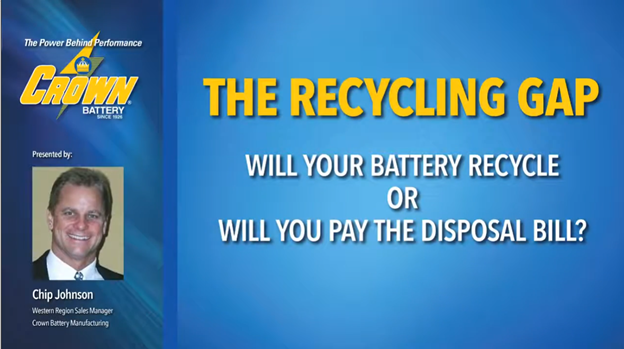 The Recycling Gap: Will your battery recycle -- or will you pay the disposal bill?