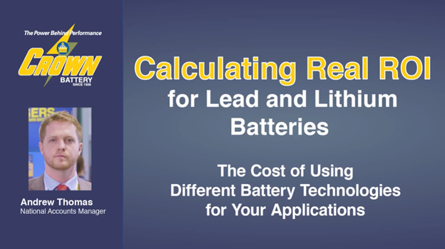 How to calculate Real ROI of different battery chemistries